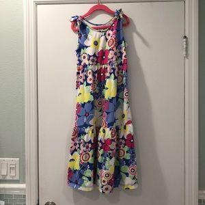Gymboree girls floral maxi dress